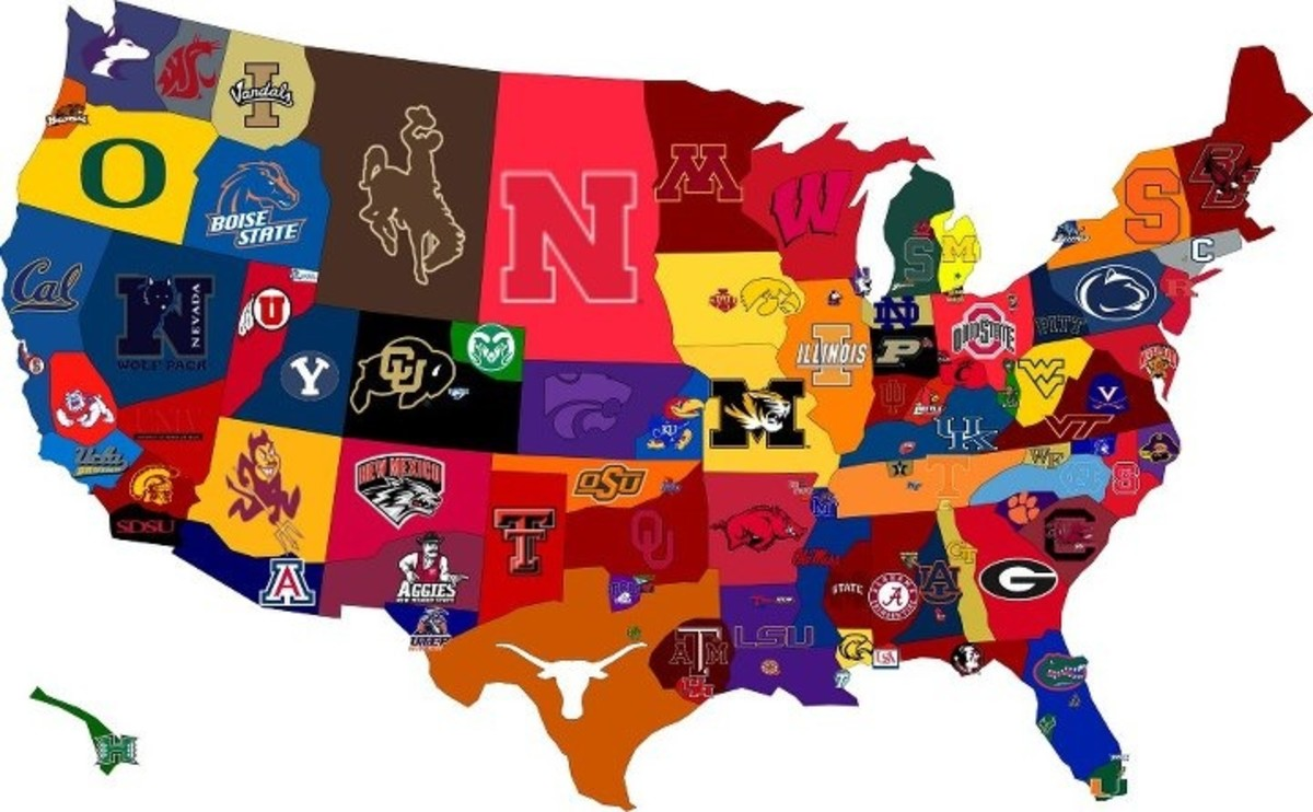 Top 10 Largest College Football Stadiums Hubpages