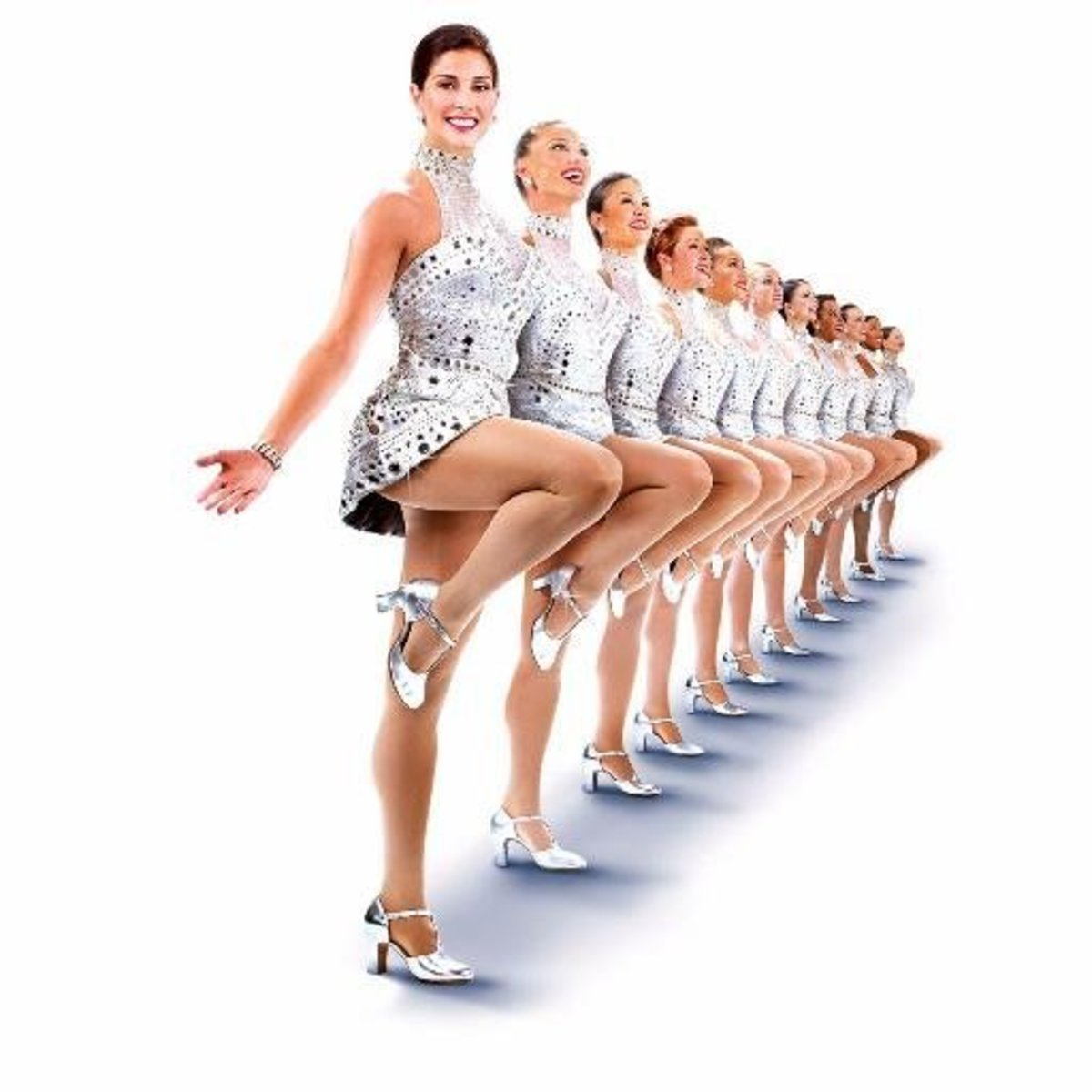 Side view of Rockettes.