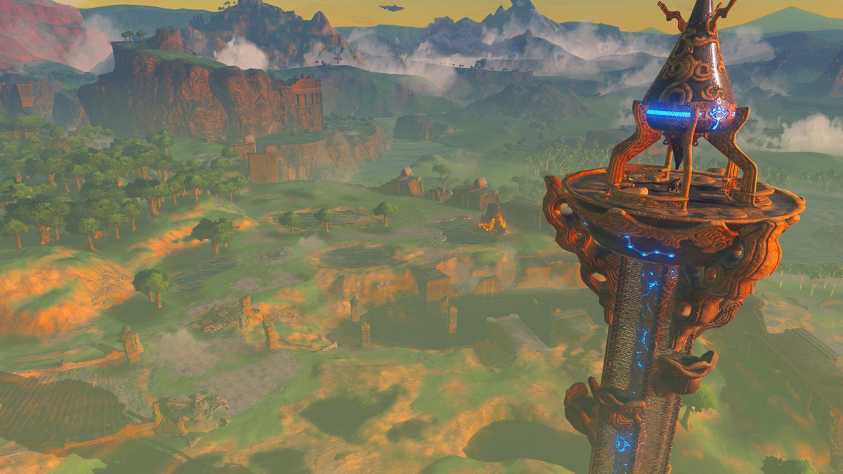 You can teleport to Sheikah Towers to get a great vantage point.
