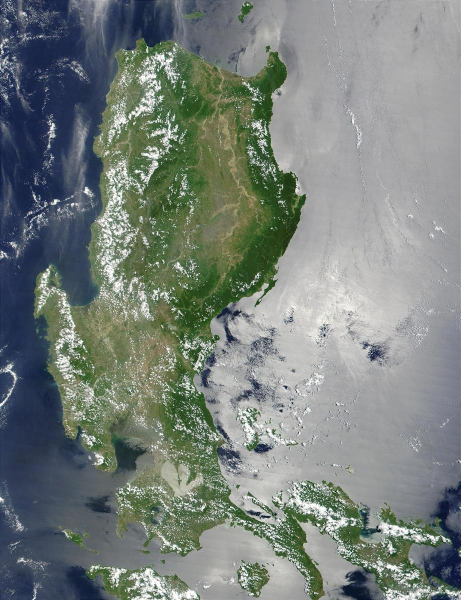 Luzon, as seen from space.