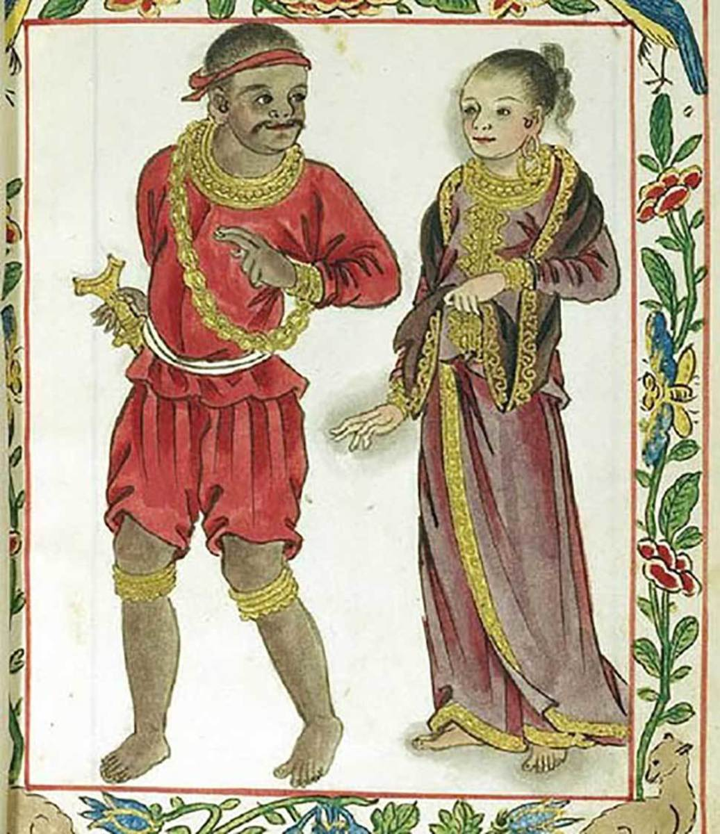 What the real rulers of Luzon looked like, as was shown in the Boxer Codex.