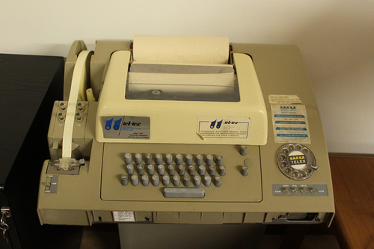 Telex Teletype Machine: What It Is And What A Telex Operator Does