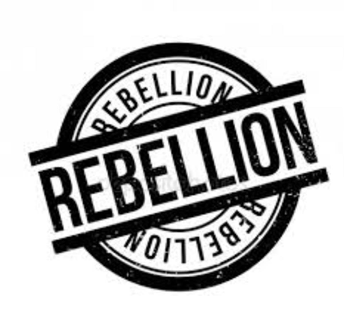 Rebellion (Sin) is built into our physical makeup.