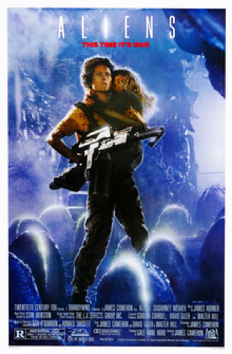 Ellen Ripley in Aliens and Sarah Connor in Terminator 2