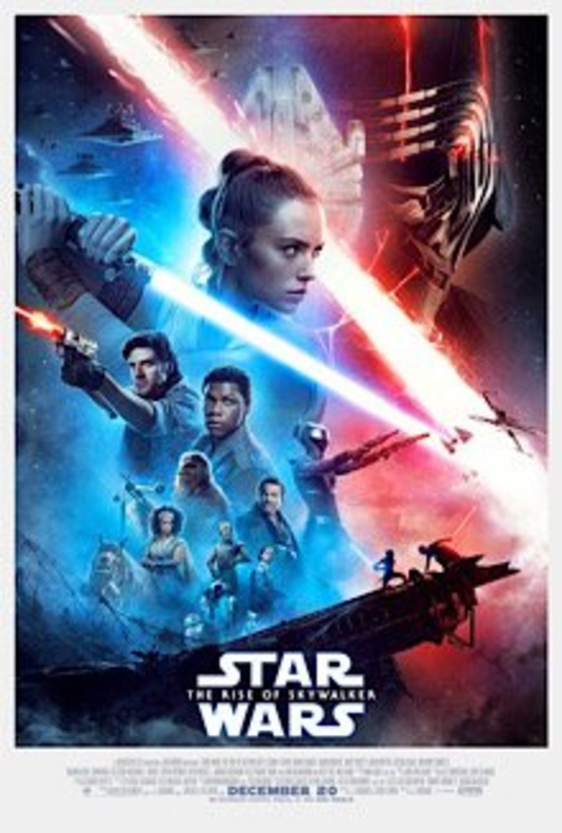 The Rise of Skywalker theatrical release poster.