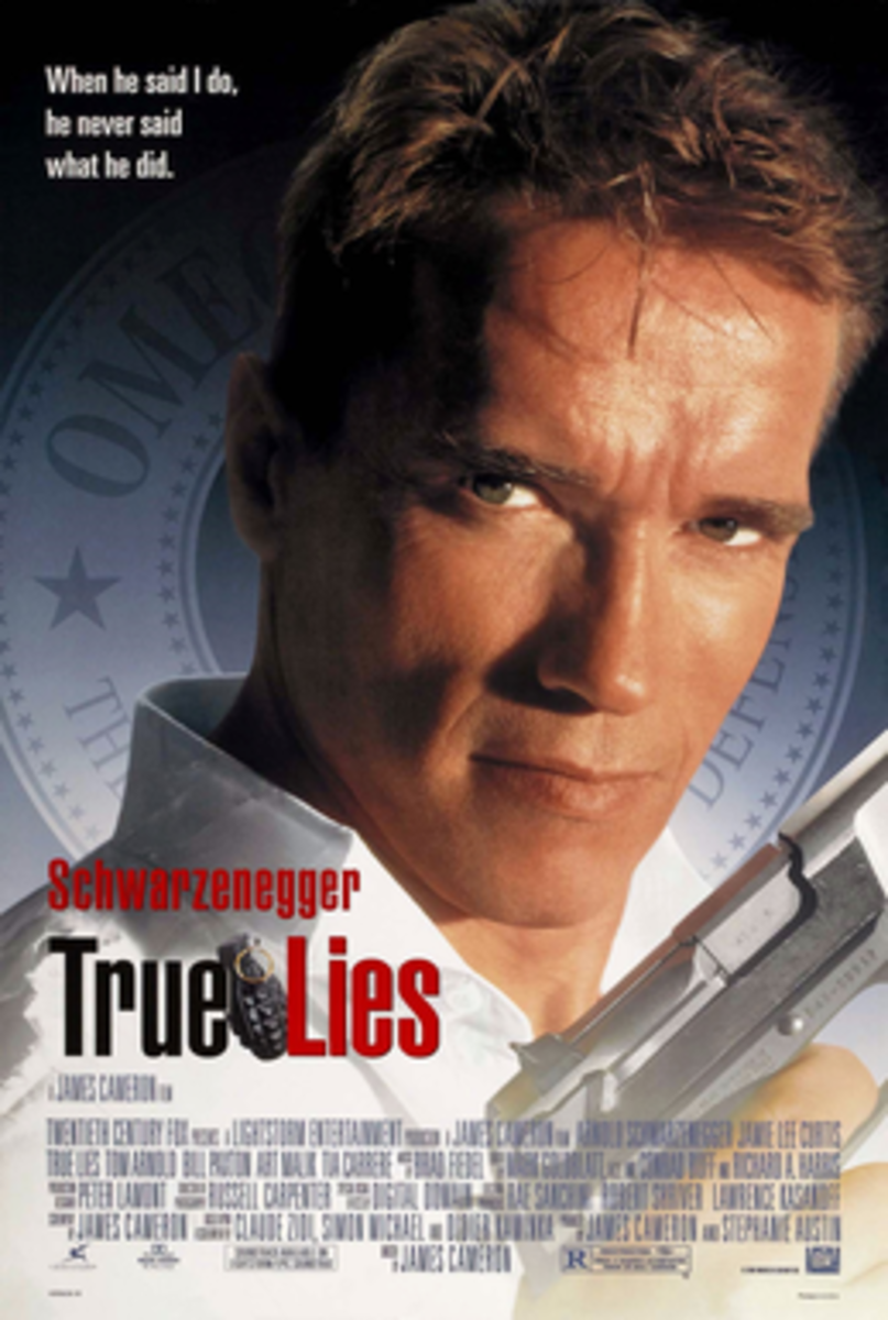 True Lies theatrical release poster