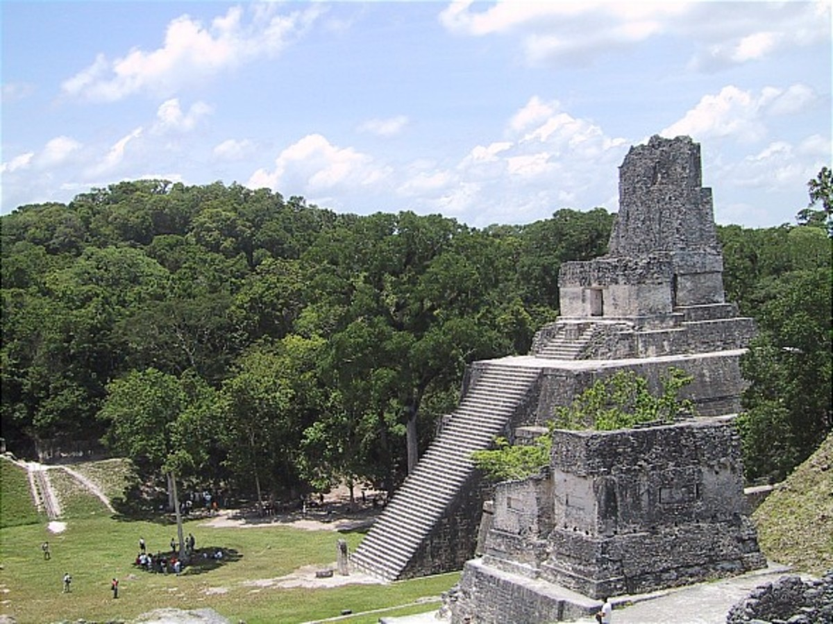 The Mayan Ruins of Tikal, Guatamala