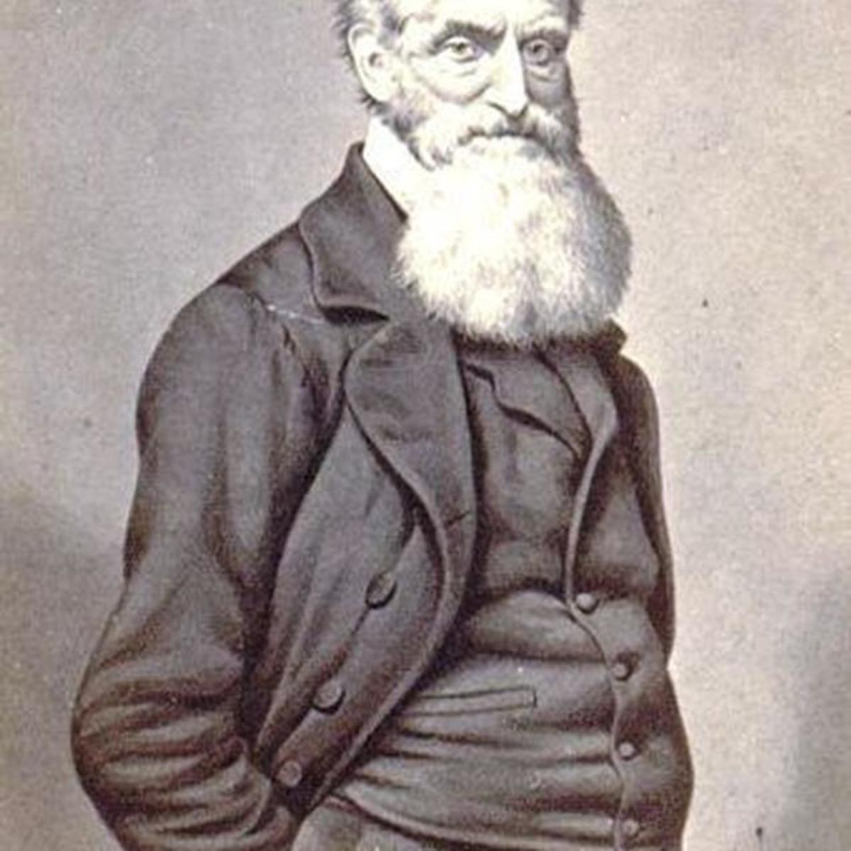 Portrait of John Brown.