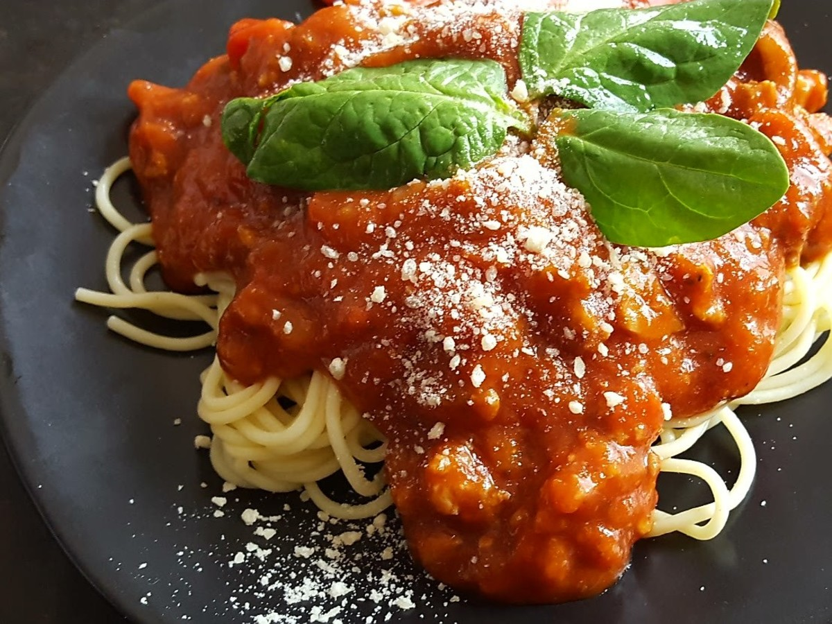 Thick and Hearty Spaghetti Sauce Recipe