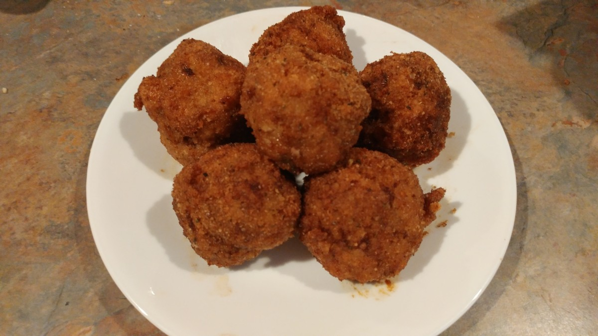 How to Make Fried Turkey Meatballs