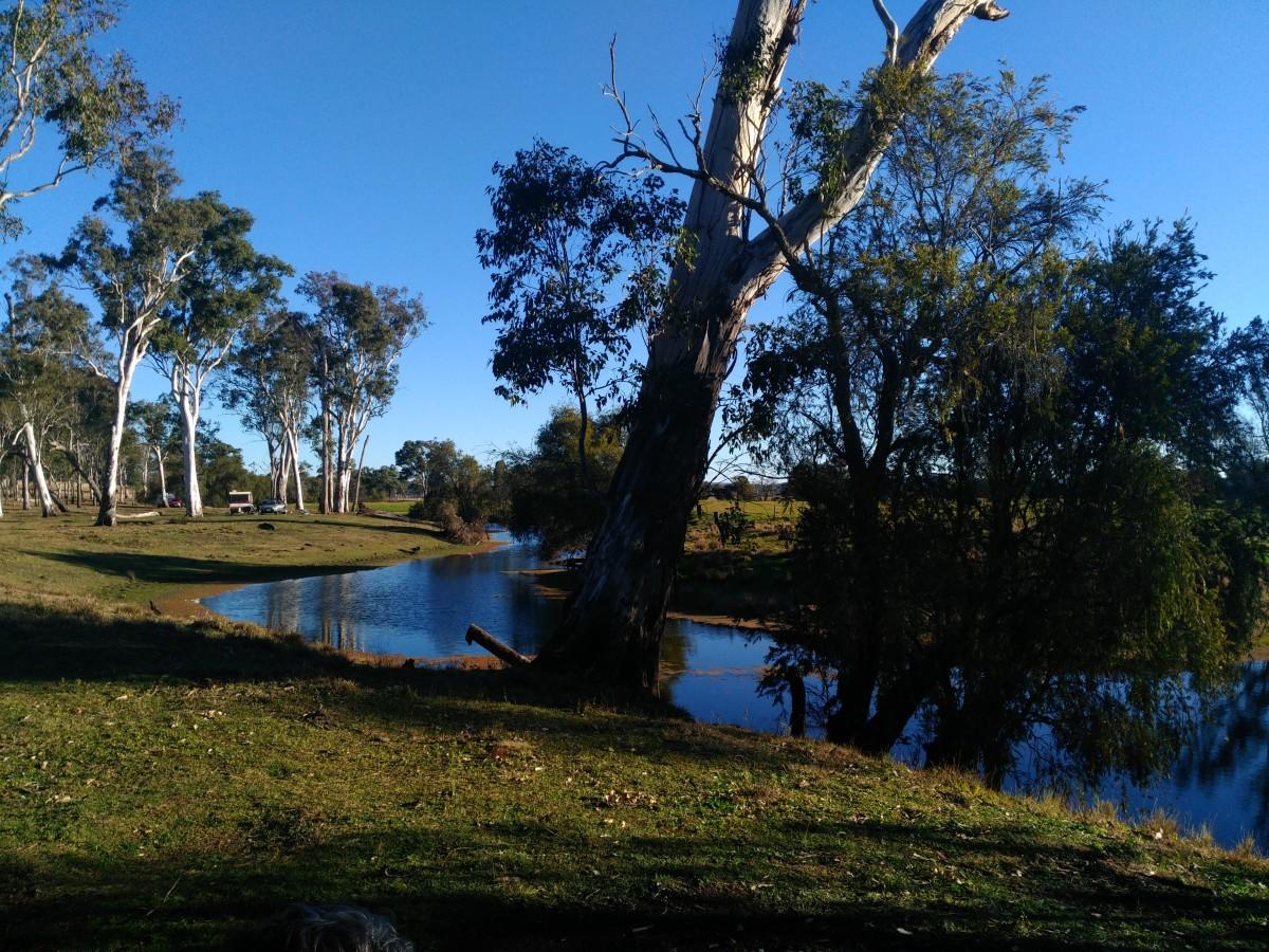 The Beautiful creek setting at Broadwater