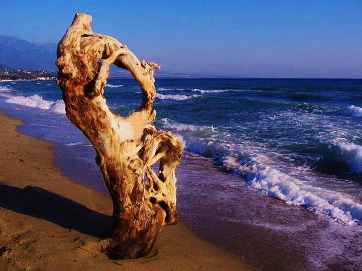 Under Olympus by beautiful, blue sea