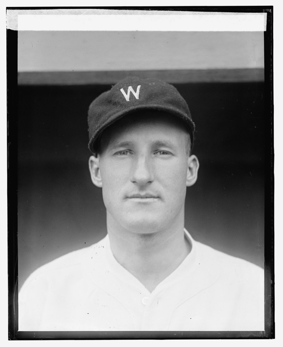 Despite recording the final out of the 1925 World Series, Hall of Famer Goose Goslin won championships in 1924 and '35.