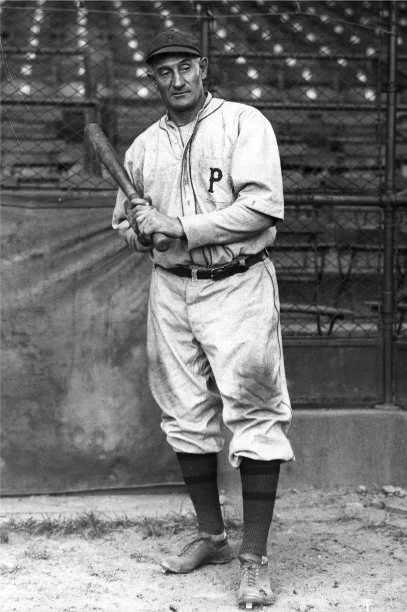Honus Wagner made the final out of the first World Series in baseball history.