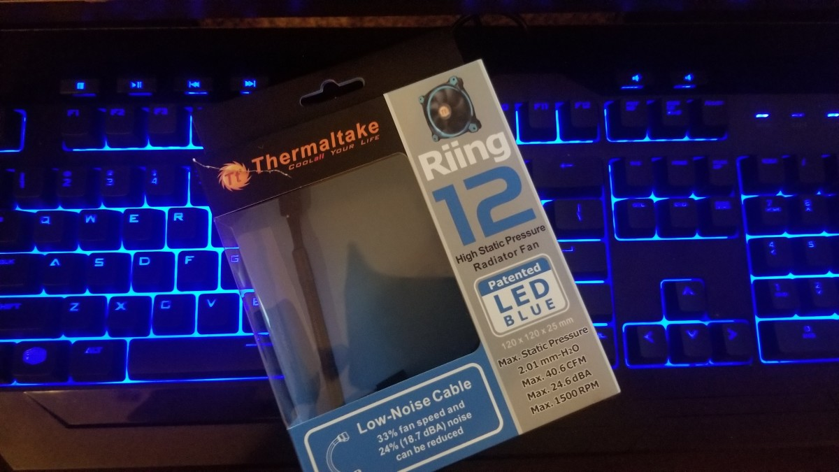 Thermaltake Riing 12 High Static Pressure Fan Review