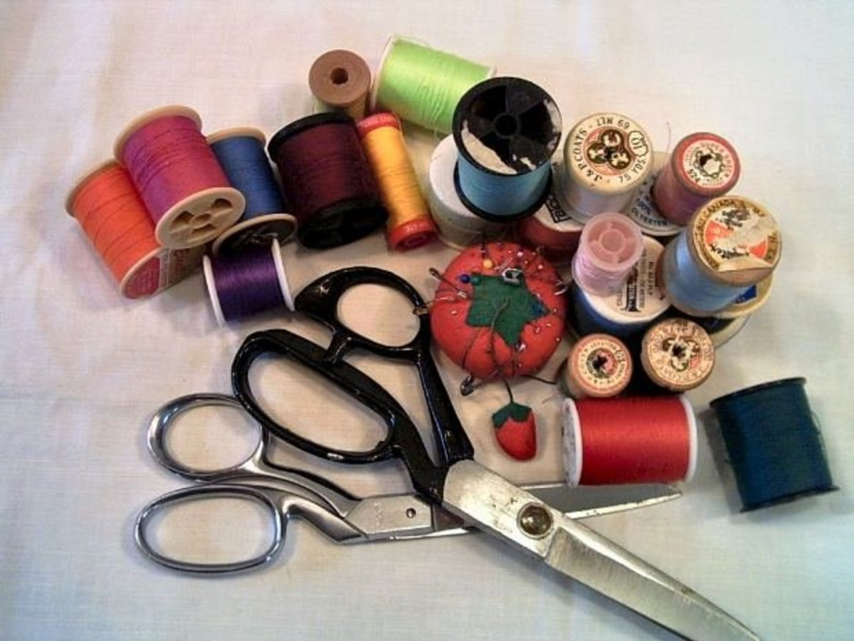 When I was a child, it was a blessing that I was eager (and motivated!) to learn how to sew.