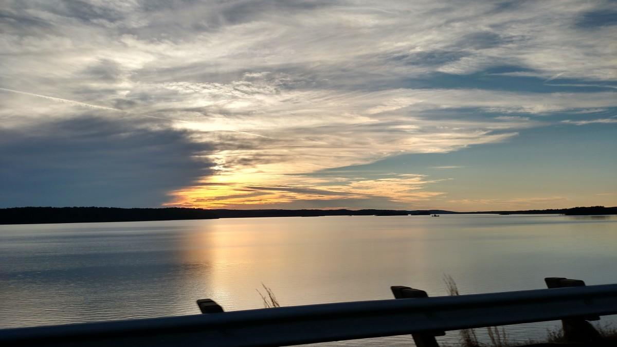 Peaceful sunsets bring joy!