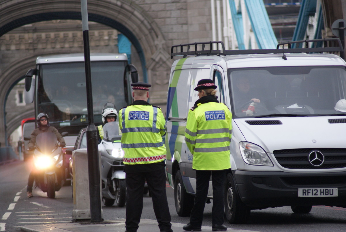 Police officers in the UK's 2014 anti-terrorism campaign, Project Servitor.