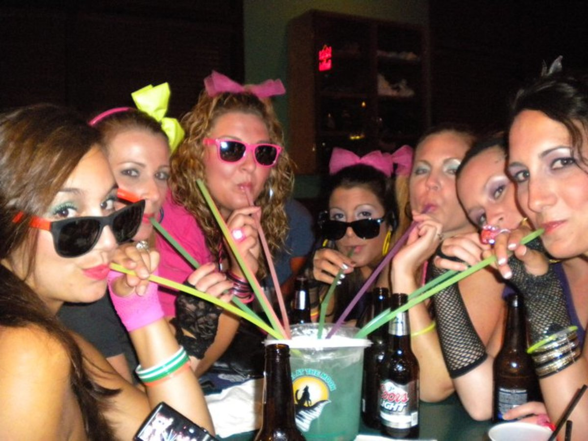 80's themed Bachelorette Party