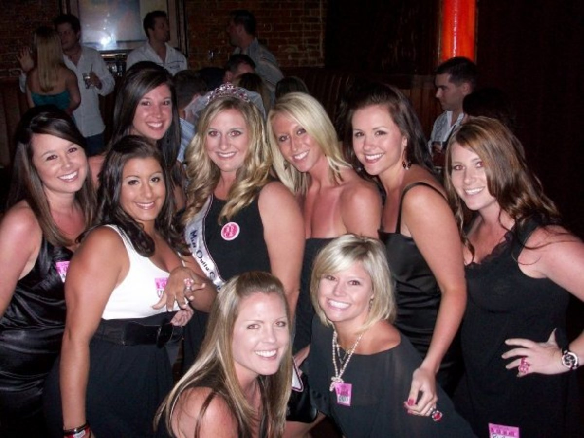 Bachelorette Party in Orlando, FL. SO much fun!