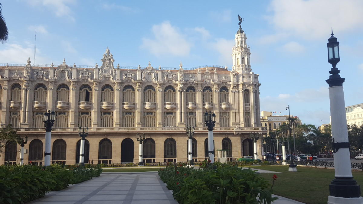 The Grand Theater of Havana built in 1915 is house of the Cuban National Ballet and the Opera.