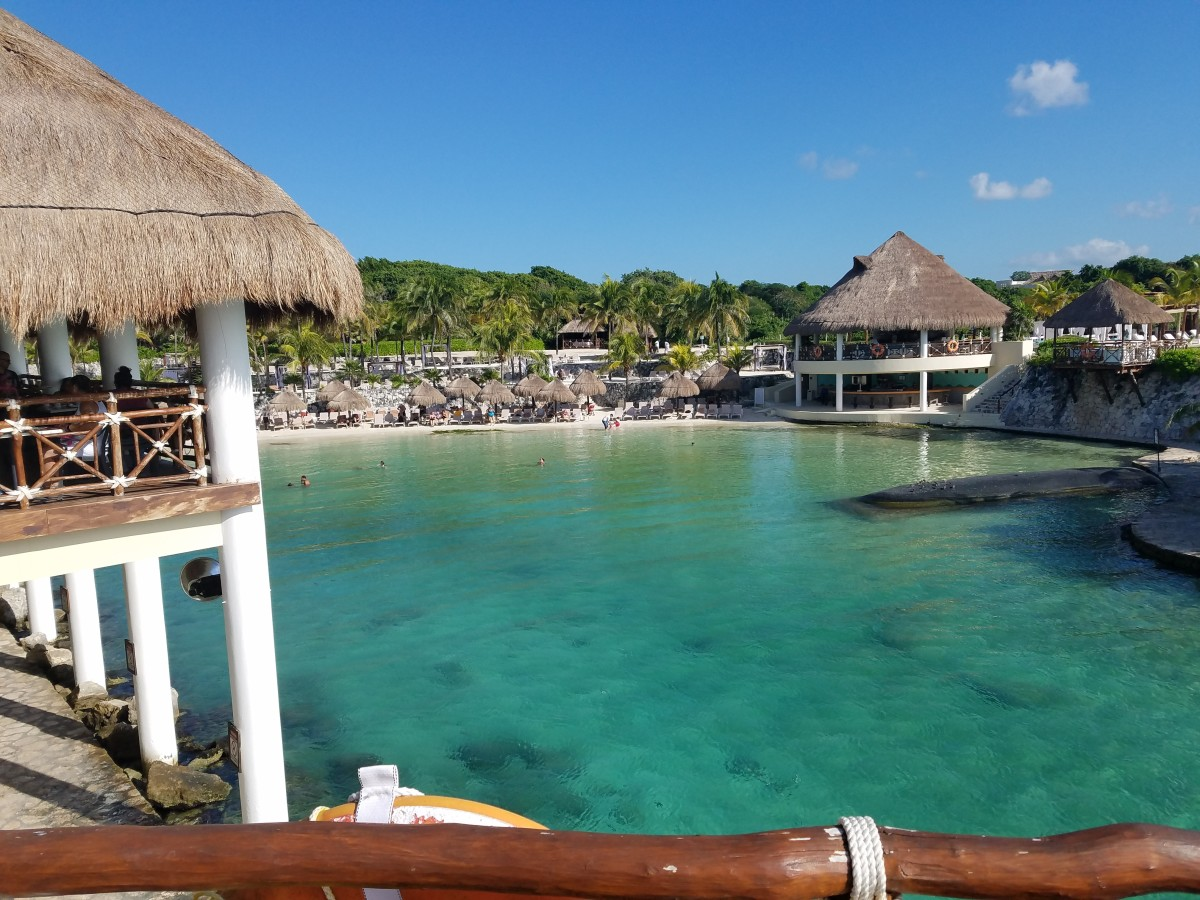 Pool at the Occidental Xcaret Resort