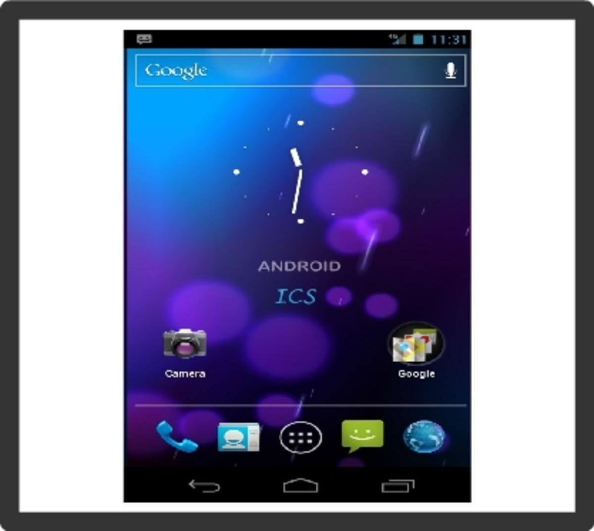 ICS on HTC Desire