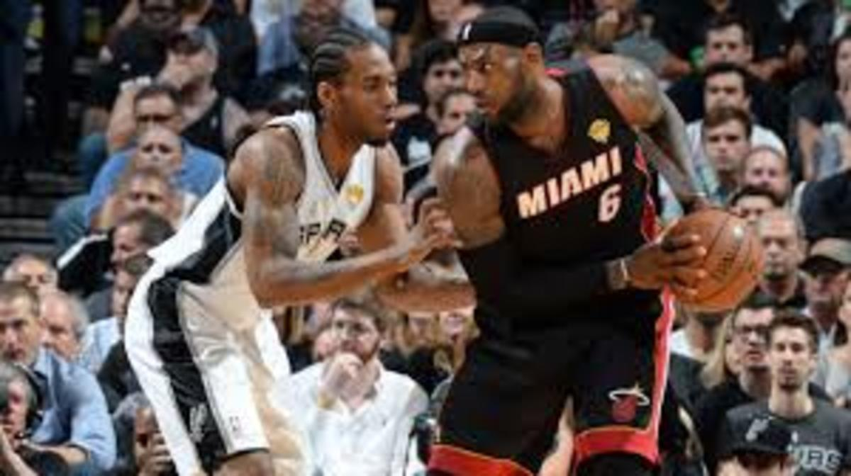 The Spurs beat the Lebron led Heat in the finals in 2014 4 games to 1.