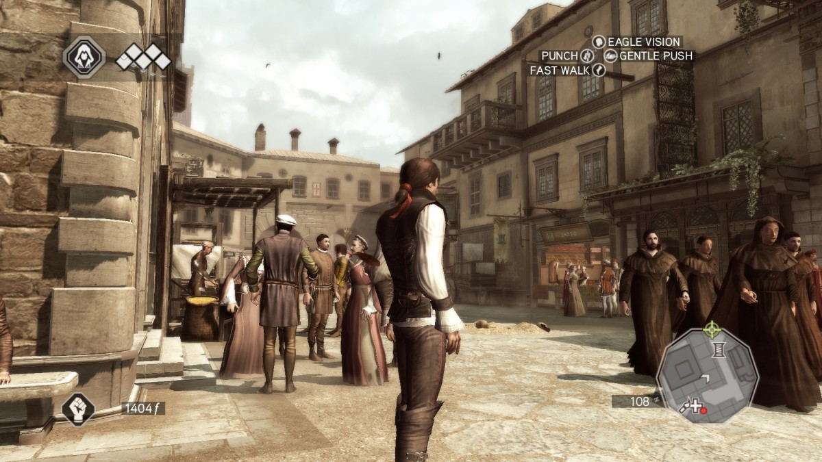 "Florence in ""Assassin's Creed II."" Don't worry about the time difference. Florence today still looks very much like this."