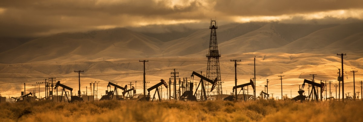 Oil wells in southern California