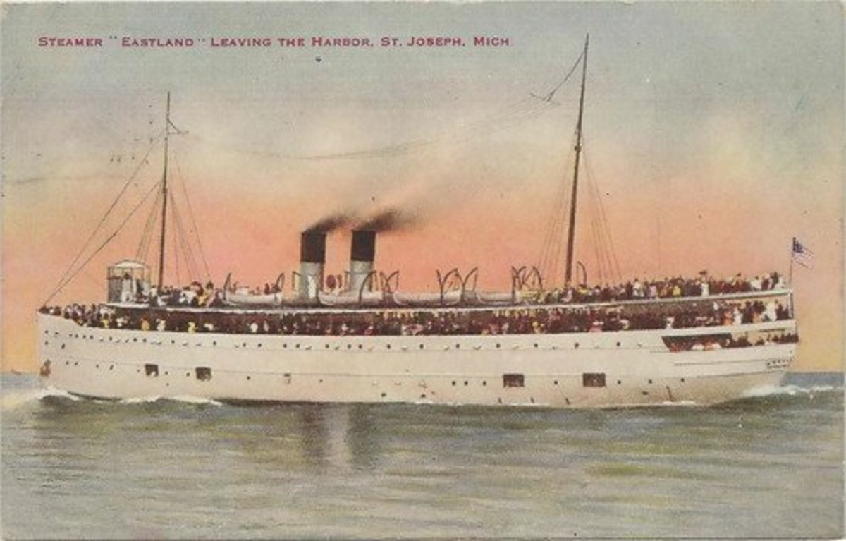 The SS Eastland in happier days.