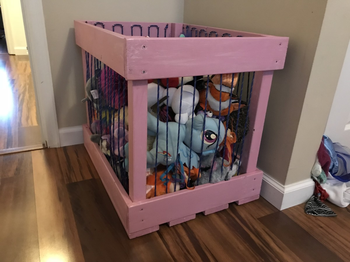 How to Build a Stuffed Animal Storage Cage