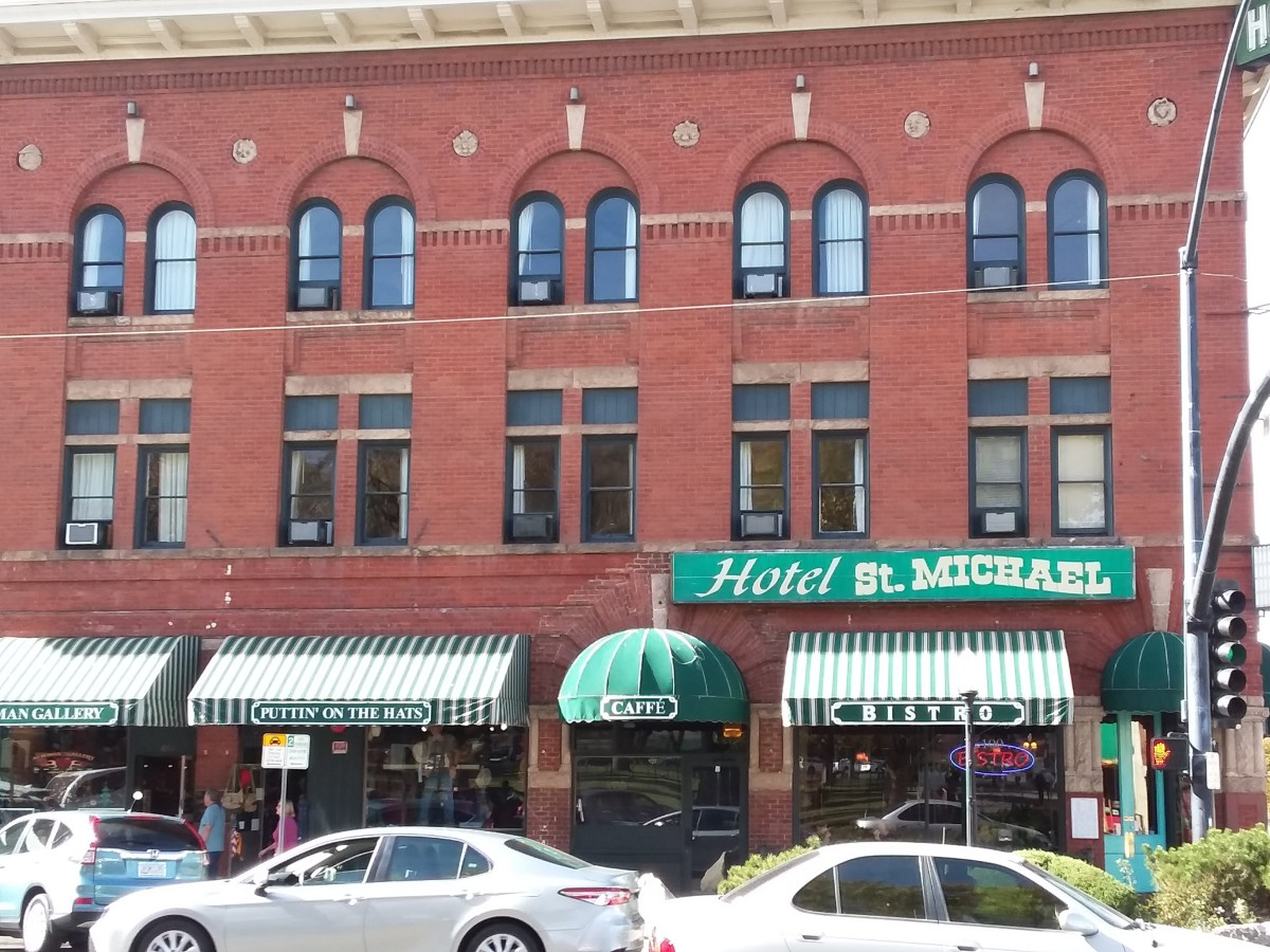 Historic Hotel St. Michael on Whiskey Row in Downtown Prescott, Arizona