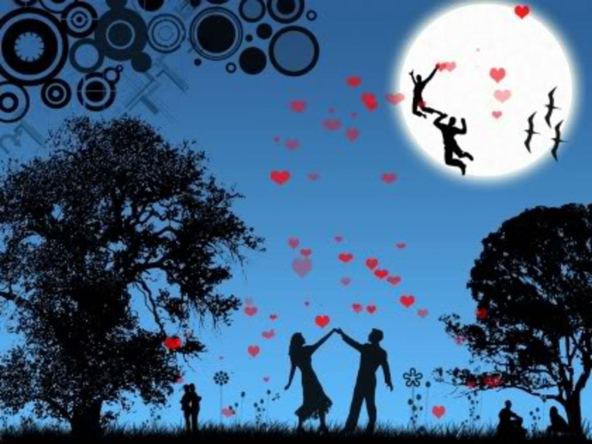 Full Moon Shines for Love