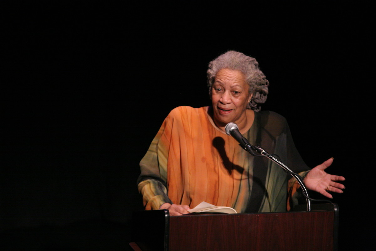 "Toni Morrison speaking at ""A Tribute to Chinua Achebe - 50 Years Anniversary of 'Things Fall Apart'"". The Town Hall, New York City, February 26th 2008."