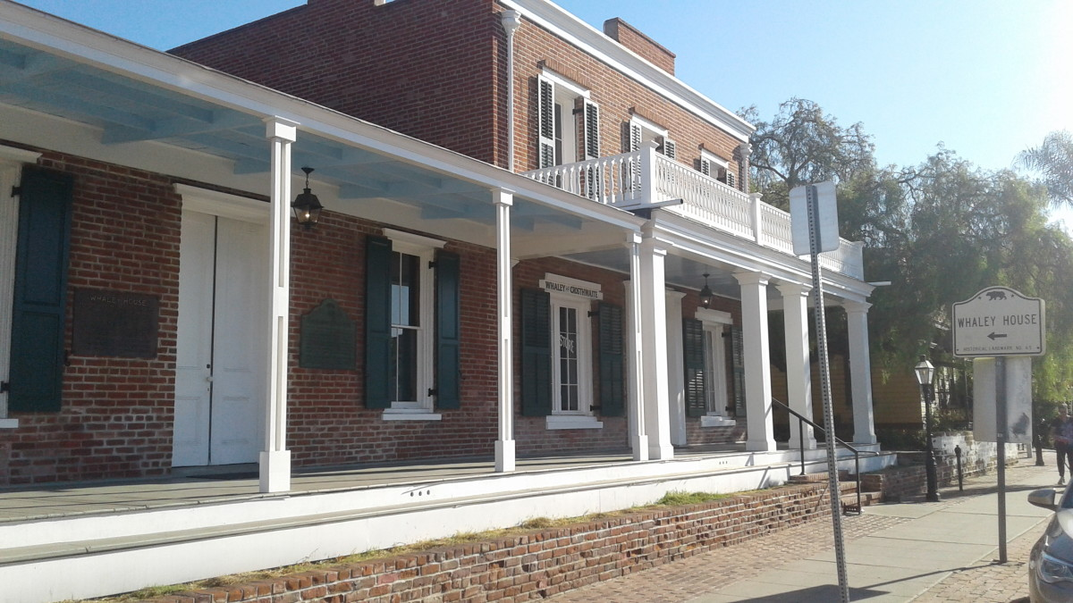 California Trips: The Whaley House in San Diego