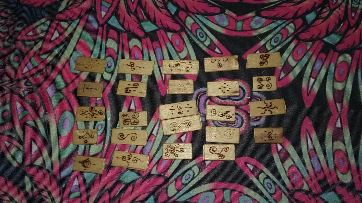 My Personal Non-traditional Rune Set