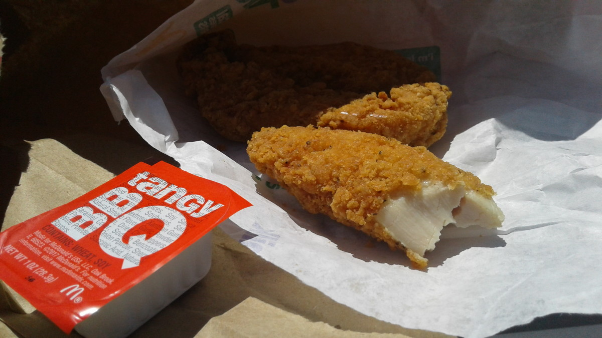 Tenders are whole meat portions - not pressed