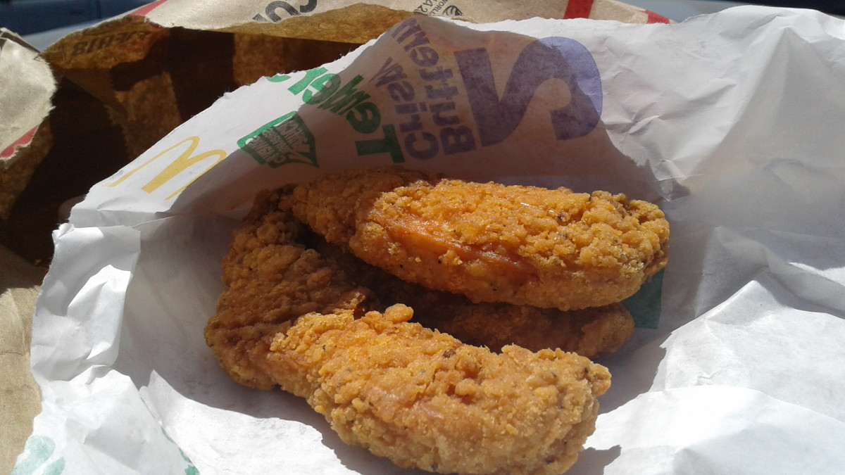 McDonald's new Homestyle Tenders