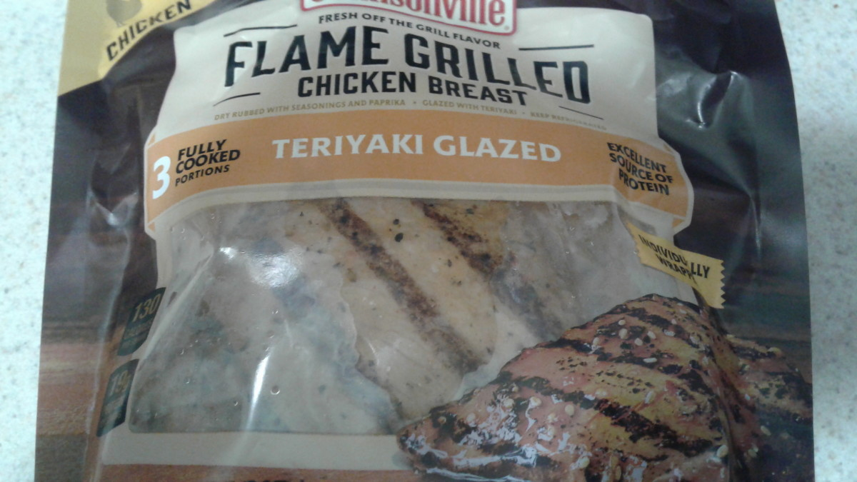 A Review of Johnsonville Flame Grilled Chicken Breast Patties