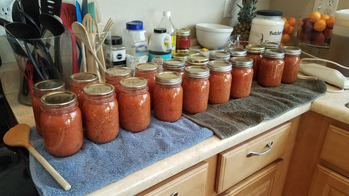 water-bath-canning-homemade-peach-salsa