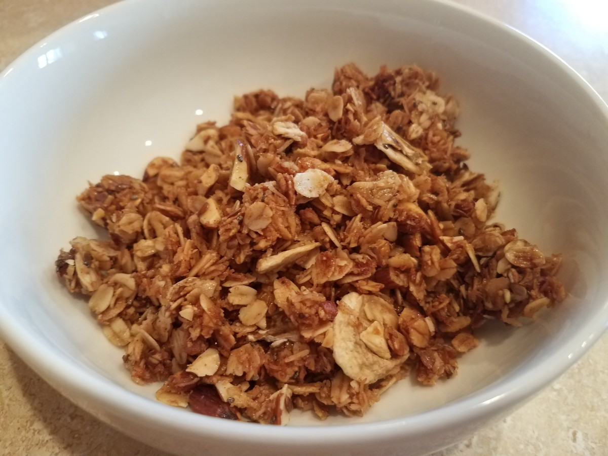 Homemade Banana Bread Granola Recipe