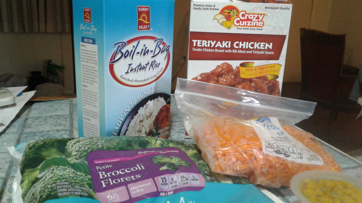 Review of Teriyaki Chicken by Crazy Cuizine