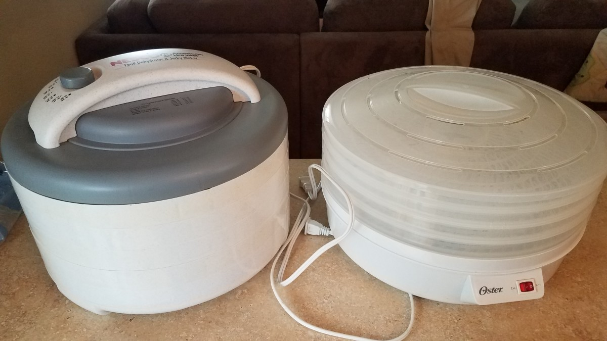 I have two different dehydrators. One jut turns on, and one has different settings for what you're dehydrating.