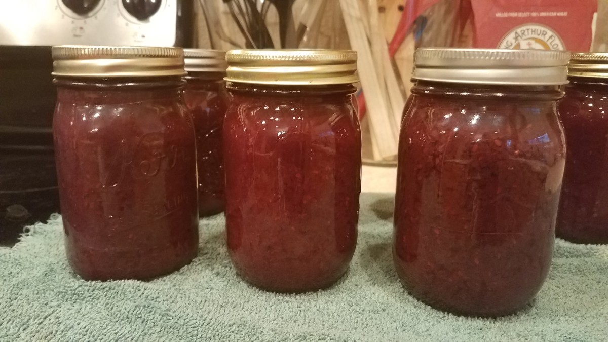 Homemade Mixed Berry Jam for Water-Bath Canning