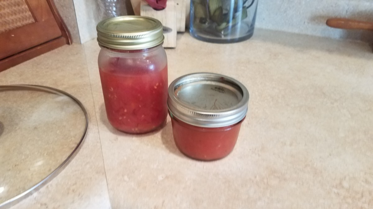I decided to use tomatoes and tomato paste for tonight's pork chops.