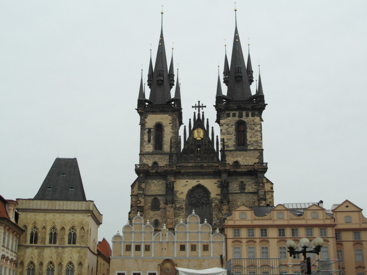 Church of Our Lady Before Tyn, Prague.