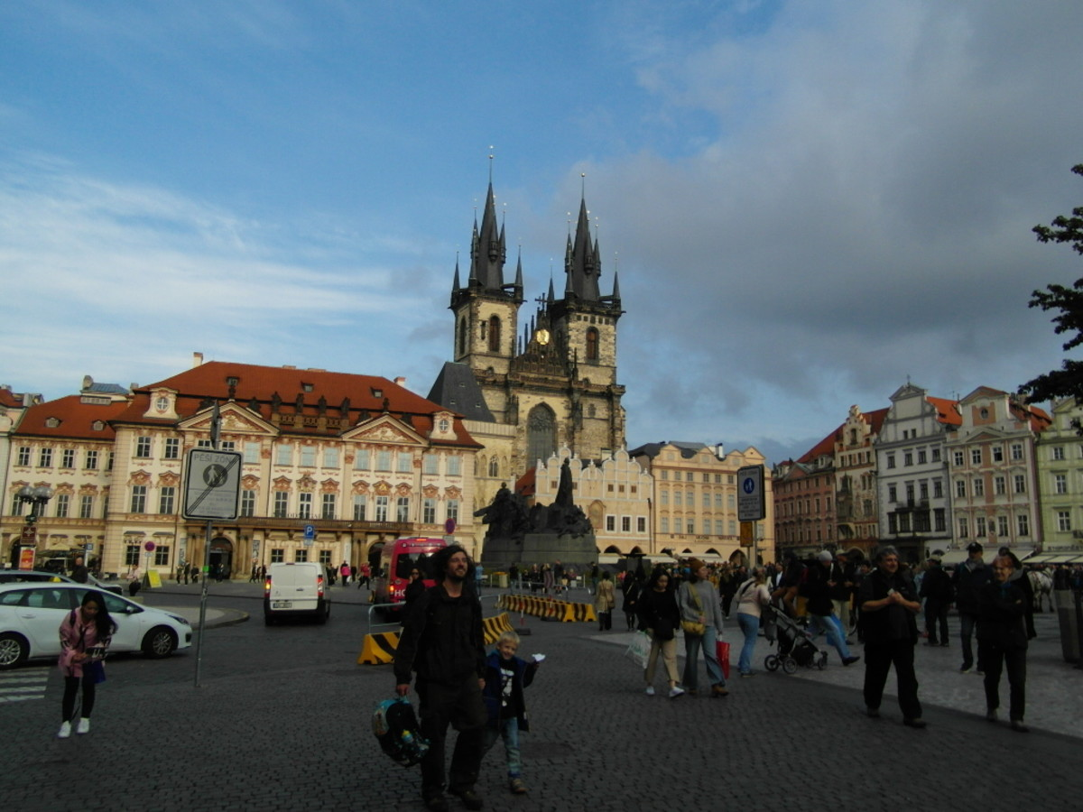 Old Town Square—Starometske Namesti