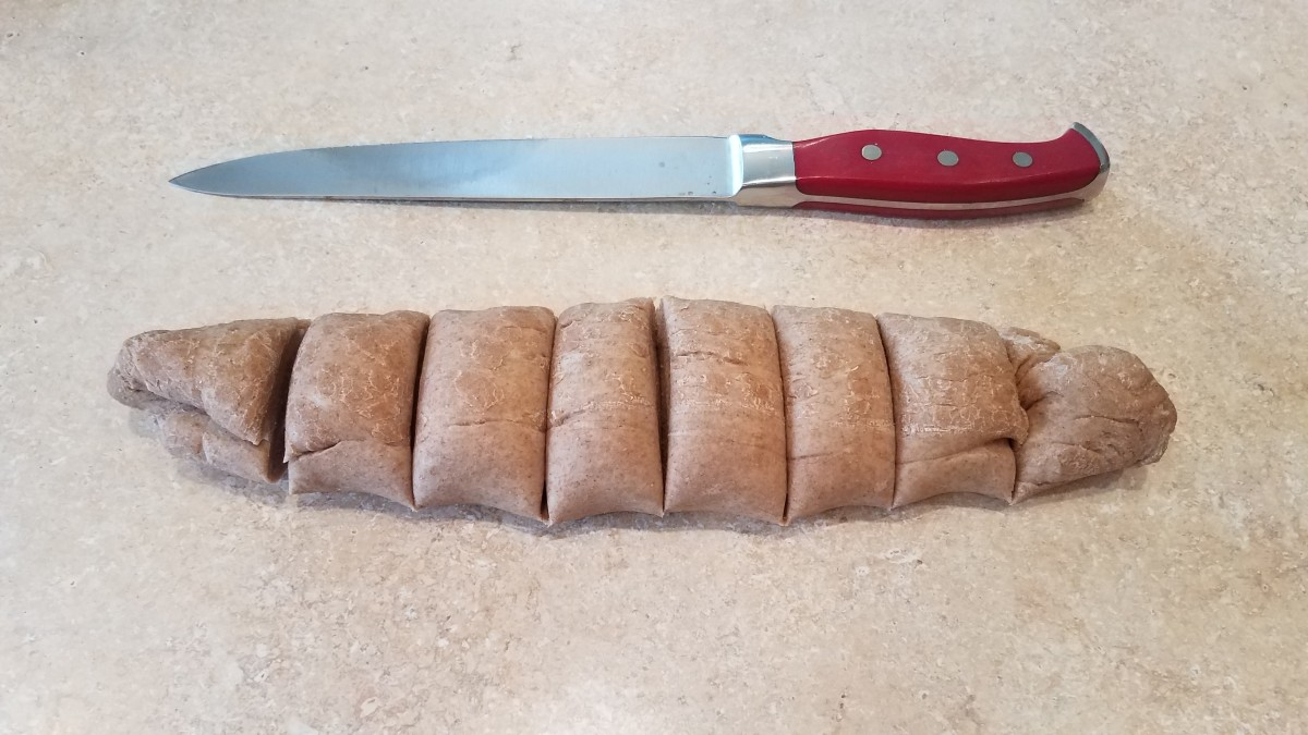 Cut into 8 equal portions.