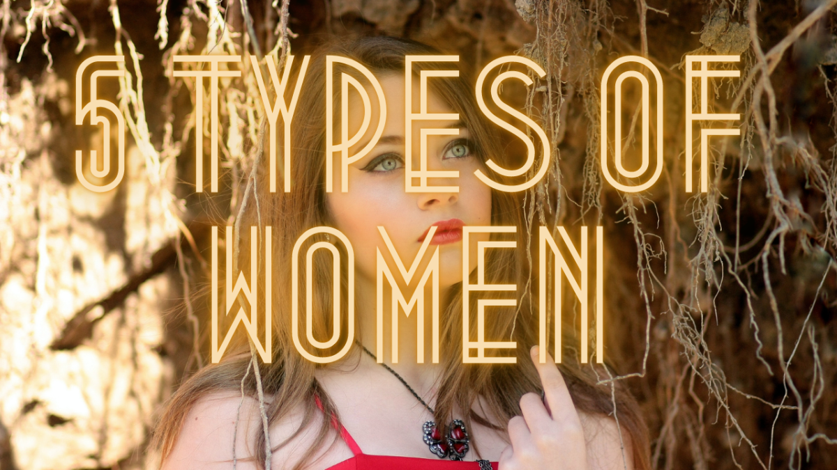 5 Types of Women I Met on Pexels, Pixabay, Unsplash